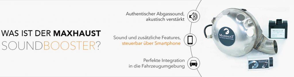 Maxhaust Soundbooster Banner